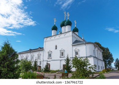 Pereslavl-Zalessky, Russia. Male Orthodox monastery. Golden Ring of Russia. Church of the Annunciation