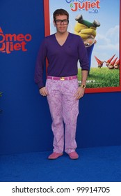 "Perez Hilton at the ""Gnomeo & Juliet"" Los Angeles Premiere, El Capitan, Hollywood, CA. 01-23-11"