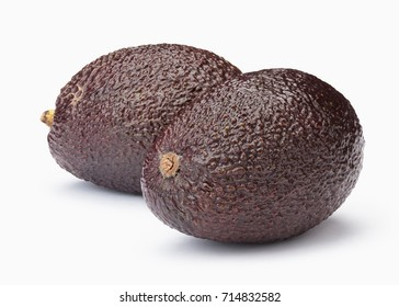 Perfect Avocado isolated on white background with clipping path in full depth of field.