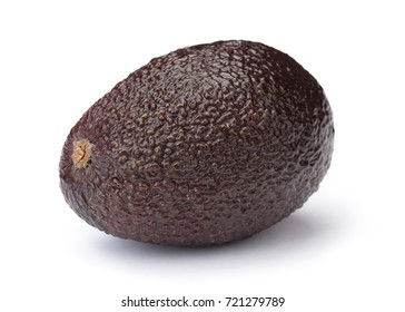 Perfect Avocado isolated on white background.