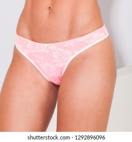 2bd513d2eca7 Torso Girl White Cotton Panties Lace Stock Photo (Edit Now ...