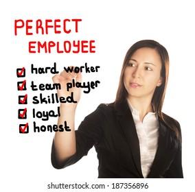 perfect employee