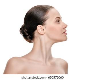 Perfect female neck