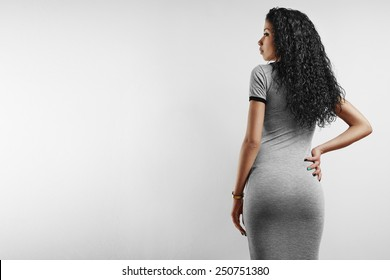 perfect fit woman's back