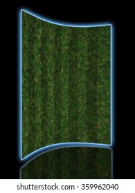 Perfect Grass in  made in 3d software 3D