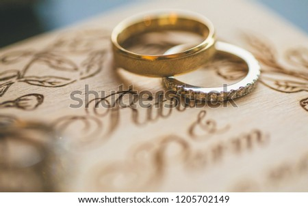 Perfect Indian Couple Wedding Engagement Ring Stock Photo Edit Now
