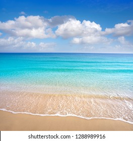 Perfect Mediterranean beach in Costa Blanca at Spain Alicante