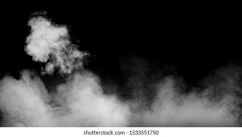 Perfect Smoke Effect Stock Image