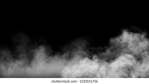 Perfect Smoke Effect Stock Image