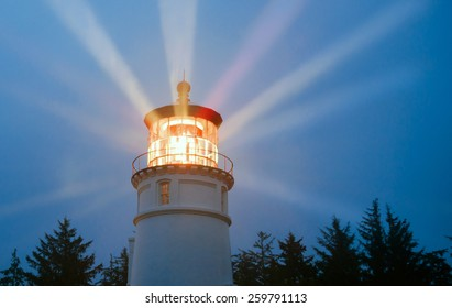 A perfect storm is just the right weather to make a lighthouse earn its keep for weary travelers