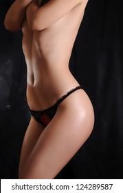 Perfect toned female body
