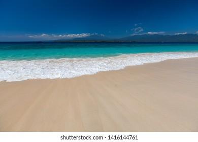 Perfect tropical beach of the Gili Meno island, Indonesia