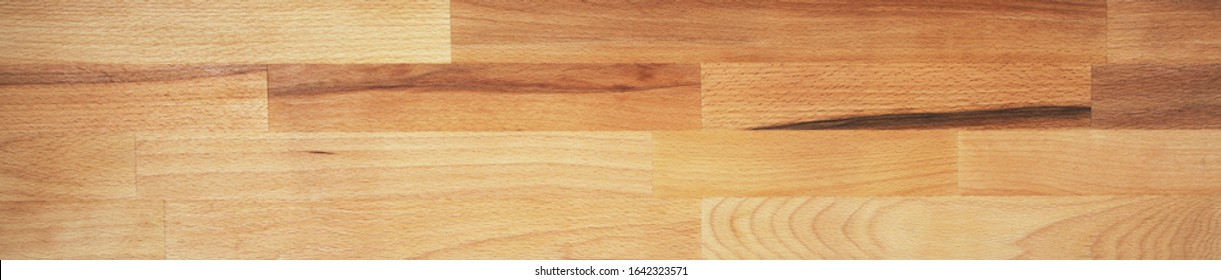 Perfect, very long, wood panorama for banners, design and headers - in beautiful, wooden grain.