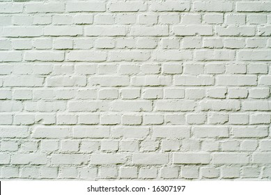Perfect white brickwall texture