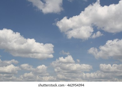 perfect white clouds