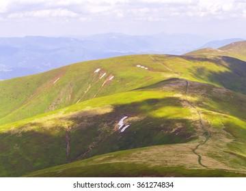 A perfect world green hills texture.