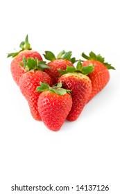 perfectly fresh strawberries