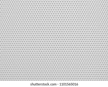 Perforated background pattern