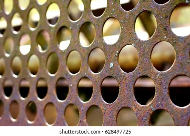 Perforated plate, macro
