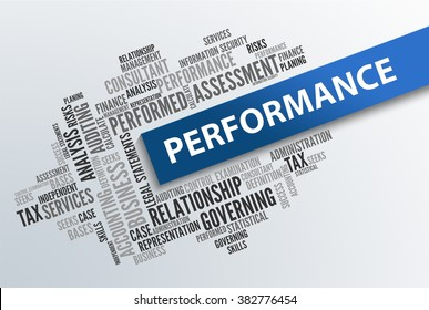 PERFORMANCE | Business Abstract Concept