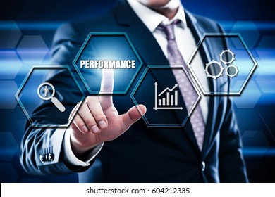 Performance Management Efficiency Improvement Business Technology concept