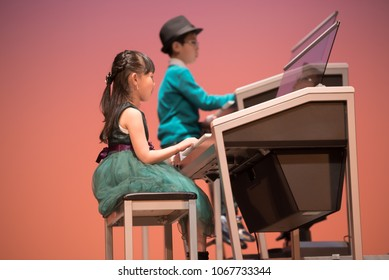 Performed at the recital of the piano