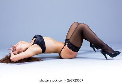 Performer Dancing Undressing