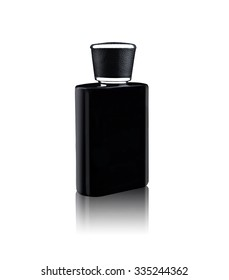 perfume bottle isolated