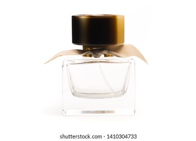 perfume bottle isolated on white background - Image
