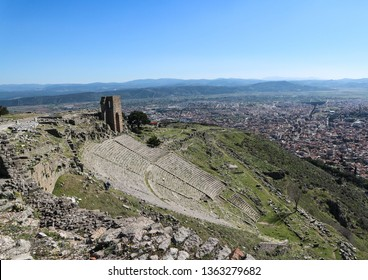 Pergamon Acropolis beautiful view