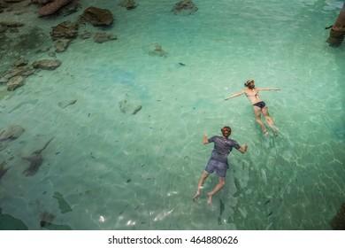 Perhentian Island, Trengganu, Malaysia, Aug 3, 2016 - Snorkeling