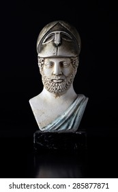 """Pericles was Ancient Greek statesman , orator and general of the 5th century BC , known as the """" Golden Age """". (495-429) BC"""