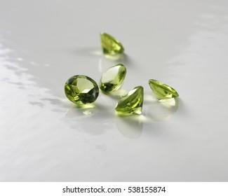 peridot stones