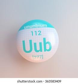 Uub stock images royalty free images vectors shutterstock periodic table of elements ununbium urtaz Choice Image
