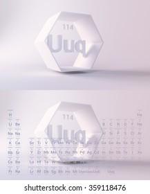 periodic table ununquadium - Periodic Table Symbol Ununquadium