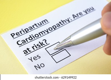 Peripartum cardiomyopathy: are you at risk? yes or no