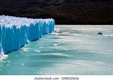 Perito Moreno glacier from up close