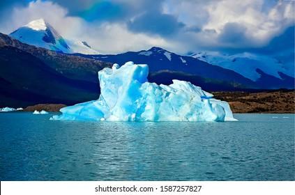 Perito Moreno glacier lake in Patagonia, Argentina