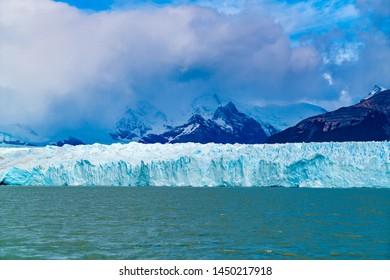 Perito Moreno Glacier in Loa Glaciares National Park in Patagonia Argentina