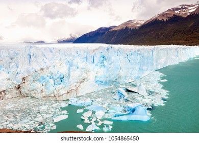 The Perito Moreno Glacier, located in Santa Cruz Provine Argentina,before the Arch collapse in March 2018