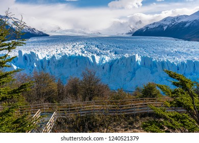 Perito Moreno Glacier in the Los Glaciares National Park in Argentina