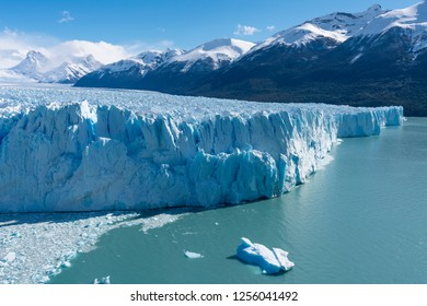 Perito Moreno Glacier in the Los Glaciares National Park in Argentina