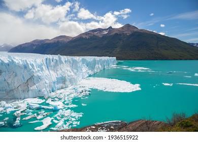 Perito Moreno glacier at Patagonia