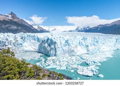 Perito Moreno Glacier in Patagonia, El Calafate, Argentina