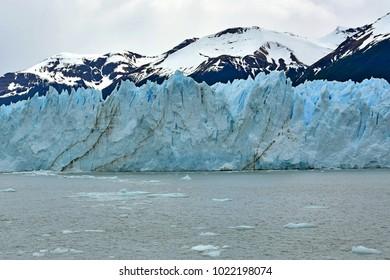 Perito Moreno Glacier seen from Lago Argentino
