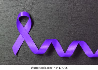 periwinkle blue ribbon. Esophageal and Stomach cancer awareness.