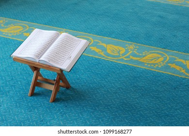 PERLIS, MALAYSIA - 27 MAY 2018: The Holy al Quran
