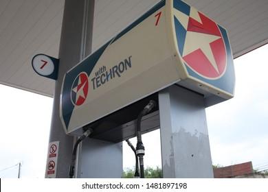 Chevron Gas Station Images, Stock Photos & Vectors