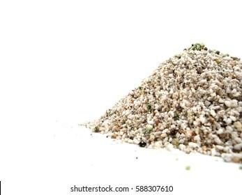 perlite fertilizer isolated