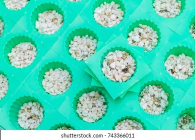 perlite and vermiculite with cup of planting set for hydroponics vegetable